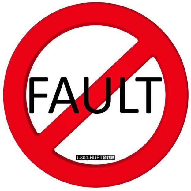 No-Fault sign