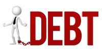 Motorcyclist in debt