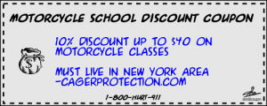 Motorcycle School Discount Coupon