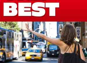 Best places to hail taxi cabs