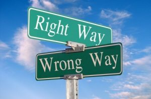 The right way or wrong way to register a vehicle