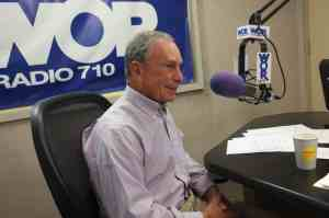 ticket scandal is subject of Mayor Bloomberg's comments on radio show