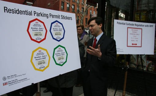 Residential permit parking system in NYC_HomeRule