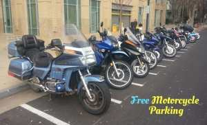 free motorcycle parking in NYC-fair or foul?