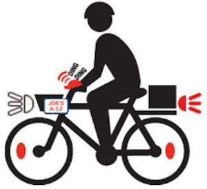 New Laws for Businesses that use a Bicycle for Commercial Purposes