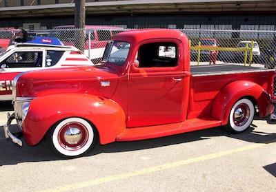 Vintage Ford pick-up truck