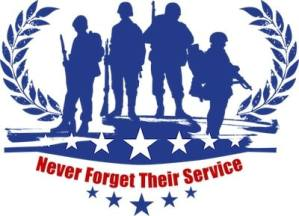 This image reminds us never to forget our service men and women who dies to keep our country free-memorial day