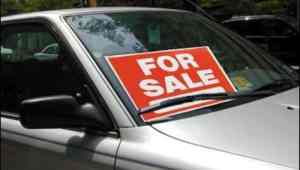 "Can I put a ""For Sale"" Sign on my Car?"