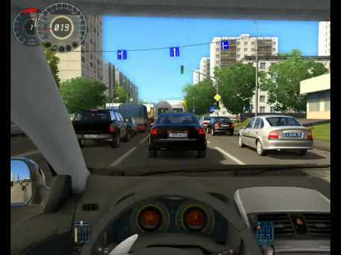 This image is a driving simulator relating to this blog post about avoiding parking tickets in NYC