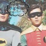 This is an image of batman and robin representing the holy e-mail alerts propsed by a new NYC Council Bill
