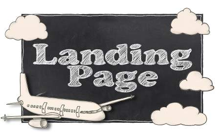 This is a landing page