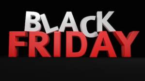 This image is a 3-D Black Friday representing the subject of this blog post
