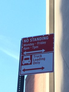 NYC Parking Signs for No Standing