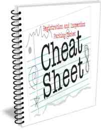 registration and inspection parking ticket cheat sheet