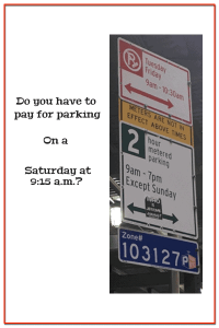 Customer Success: Larry Beat a Confusing NYC Parking Sign