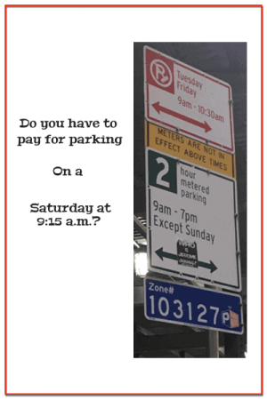Is it safe to park at this confusing NYC parking sign?