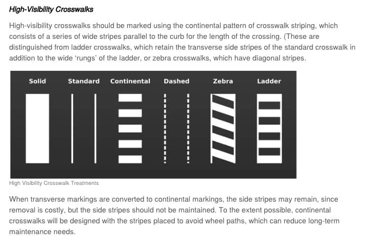 crosswalks designs