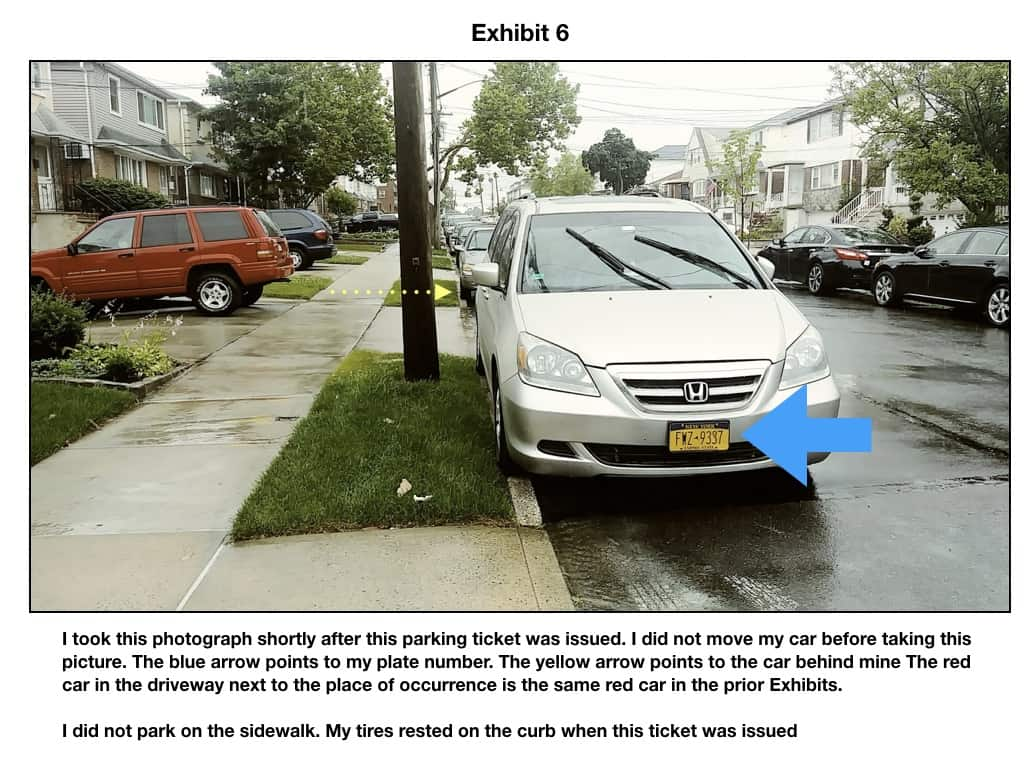 Pay Nyc Traffic Ticket >> Do Not Fight Sidewalk Parking Tickets Until you Read This