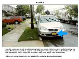 Do Not Fight Sidewalk Parking Tickets Until you Read This