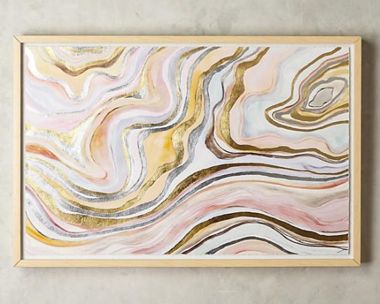 Pastel Daydream Wall Art - $798 found at www.anthropologie.com