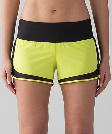 MIND OVER MILES SHORTS - LULULEMON - $58 Designed for running. Front pockets specially designed to hold your essentials. Customize the fit with the drawcord in the waistband. Mesh fabric venting for airflow in high-sweat areas to keep you cool. Gives you the ultimate feeling of nothing in your way—it sits away from your body to give you maximum room to move. www.lululemon.com