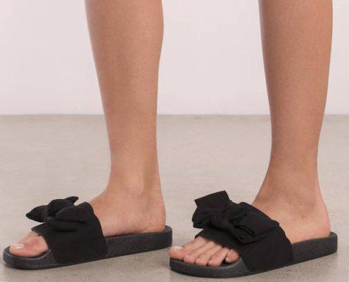 black-riley-faux-suede-slides