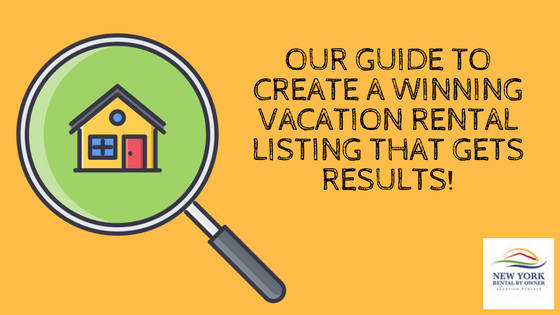 Our Guide for Vacation Rental Listing