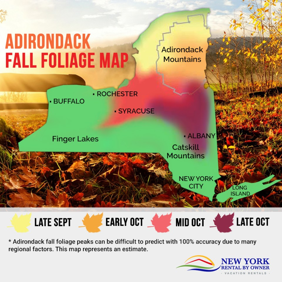 5 Unique Outdoor Adventures in the Adirondacks to Enjoy the Fall Foliage