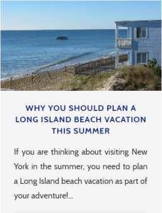 Visit Long Island Beaches
