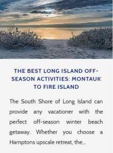 Long Island Off Season
