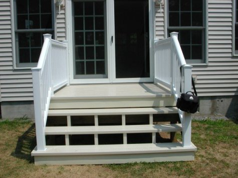 Customer Deck and Steps
