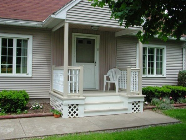 Customer Front Porch