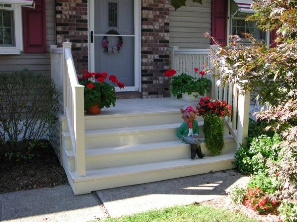 Customer Front Porch and Steps
