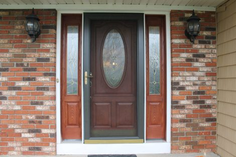 Entry and Storm Door