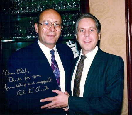 Sen. Alfonse D'Amato with Philip Franckel