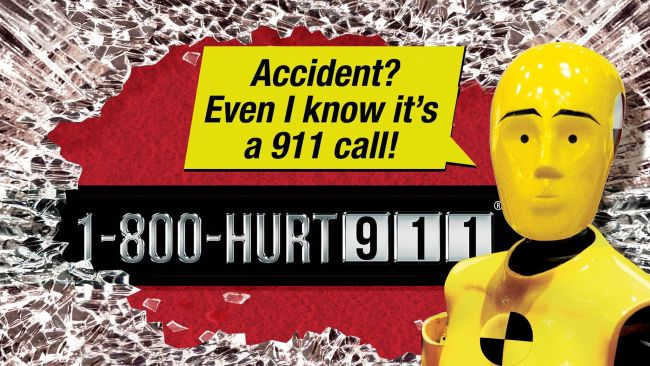 Crash test dummy knows how to call a NY bicycle accident attorney at HURT-911®