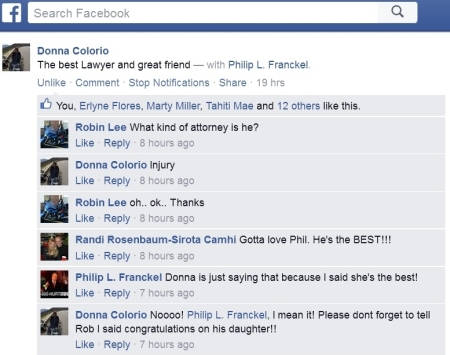 Facebook Donna opt