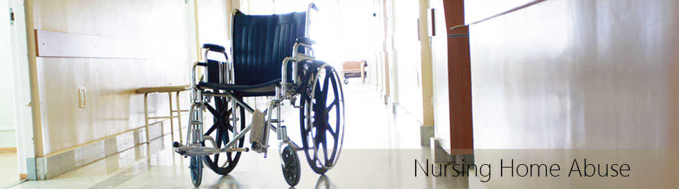 Wheel chair in nursing home