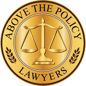 Above The Policy™ logo at Million Dollar Trial Lawyers™