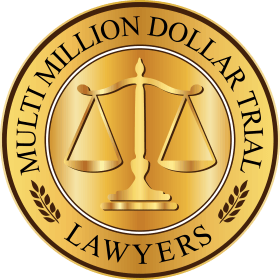 Multi-Million Dollar Trial Lawyers™ logo