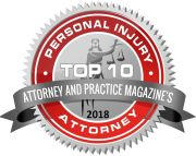 Top 10 Personal Injury Lawyer-Attorney and Practice Magazine