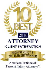 American Institute of Personal Injury Attorneys High Verdict & Settlement Winner