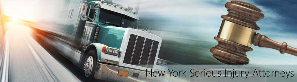 truck on highway ny serious injury opt