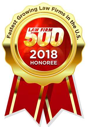Law Firm 500 Honoree seal