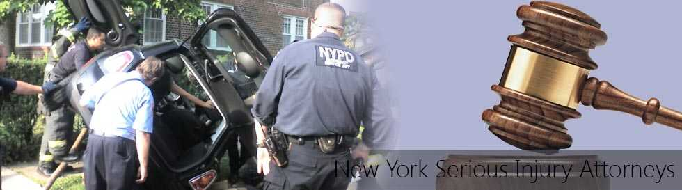 Car rolled over landing upside down after hit and run accident - New York Serious Injury Attorneys, lawyers for hit and run accidents