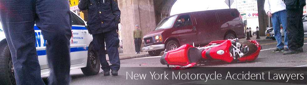 motorcycle in hit and run accident - New York Serious Injury Attorneys, motorcycle lawyers for hit and run accidents