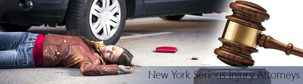 Pedestrian injured by a car in a hit and run accident - New York Serious Injury Attorneys, lawyers for hit and run accidents