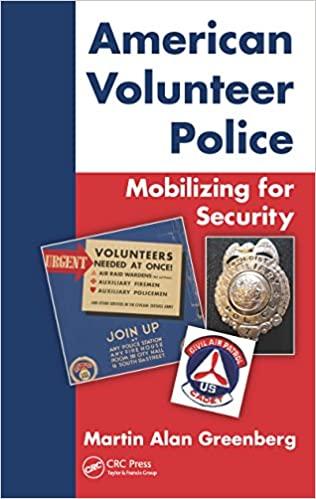 book cover American Volunteer Police