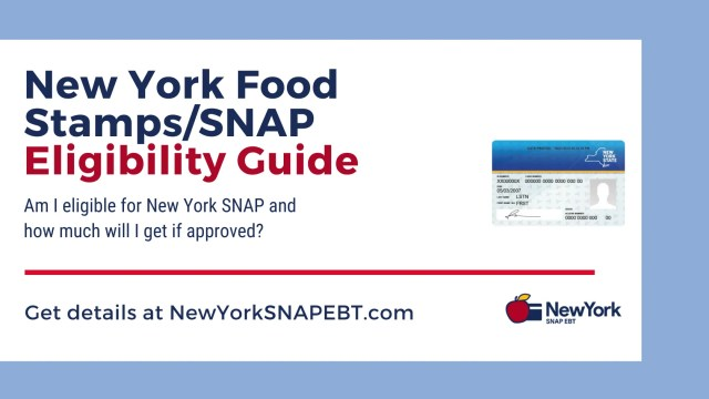 """""""New York Food Stamps Eligibility"""""""