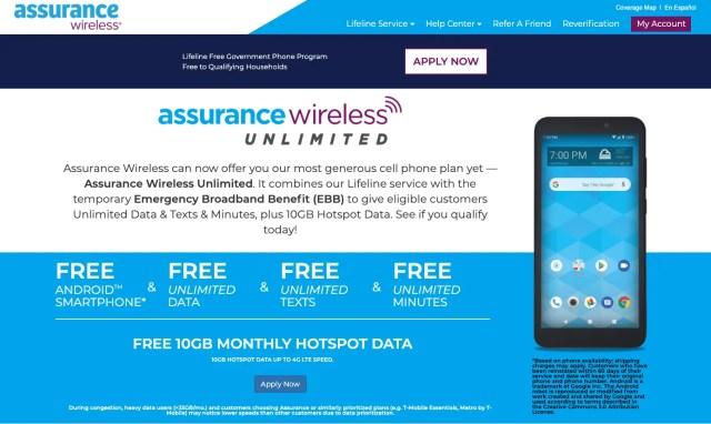 """Free phone with New York SNAP - Lifeline Program"""